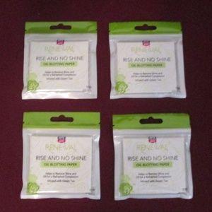 Face Oil Absorbing Sheet Blotting Paper Green tea